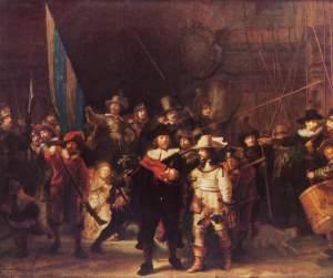 Rembrandt Rondul de noapte Casa Codin